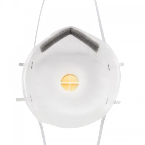 Полумаска противоаэрозольная фильтрующая модель 8112 класс защиты FFP1 NR D (4 ПДК) клапан выдоха 3М 7100050787