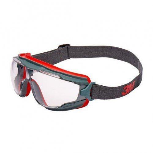 Очки защитные закрытые с покрытием Scotchgard™ против запотевания и царапин непрямая вентиляция цвет линз прозр. GG501-EU 3М 7100074368