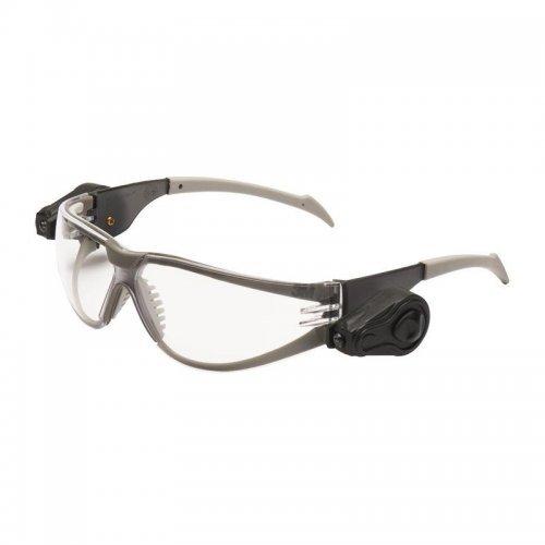 Очки открытые с двумя светодиодными фонариками направленного света цвет линз прозр. Light Vision 3М 7000032466