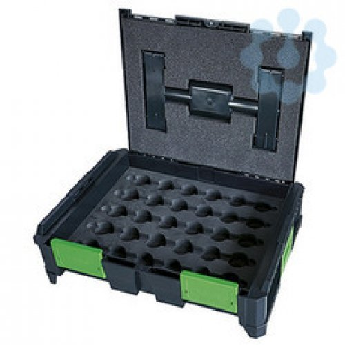 Ящик для инструмента SysCon пустой со вставками для обжимных матриц HAUPA 220626