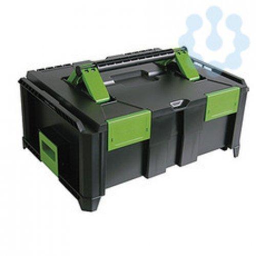 """Ящик для инструмента пластиковый ABS """"SysCon S"""" пустой HAUPA 220372"""
