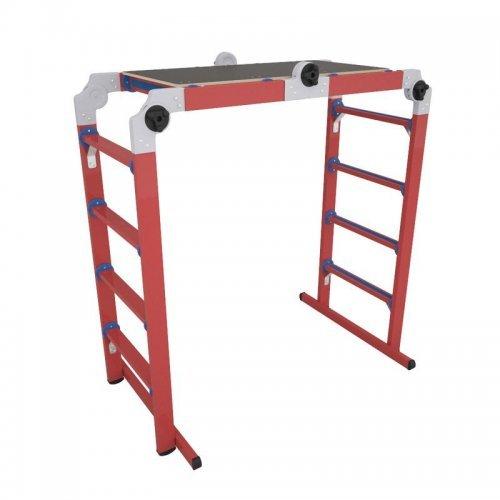 Лестница-трансформер (лестница-стремянка-подмость) ЛСПТД-1.5 П Диэлектрик Д267886