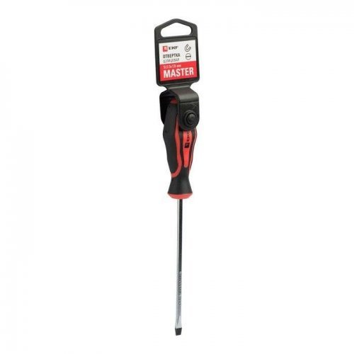 Отвертка SL5.5х125мм Master Basic EKF sl-5.5-125-mas
