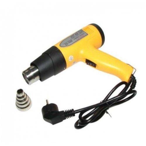 Электрофен для термоусадки с терморегулятором 220В/800-1500Вт ZD-509 REXANT 12-0052