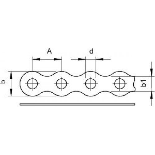 Лента монтажная перфорированная 12х1мм 5062 I12 FS OBO 1475126