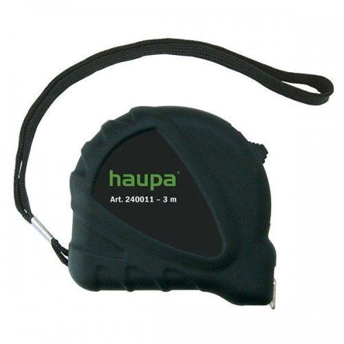 Рулетка 3м с фиксатором HAUPA 240011
