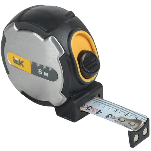 Рулетка измерительная Expert 8м ИЭК TIR10-2-008