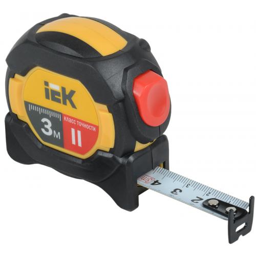 Рулетка измерительная Professional 3м ИЭК TIR10-3-003