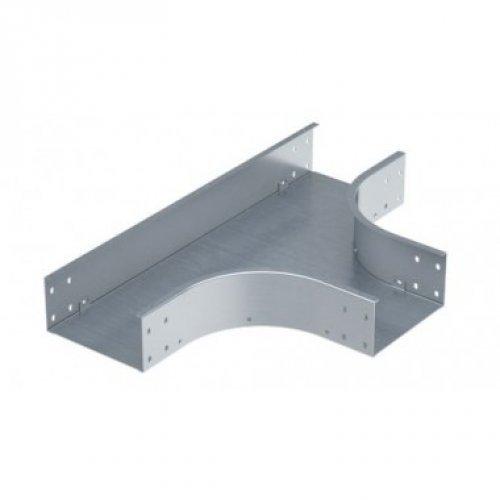 Ответвитель для лотка Т-образный 30х400 1.5мм нерж. сталь AISI 304 в комплекте с крепеж. эл. DKC ISTM340KC