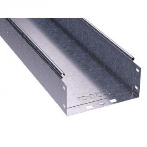 Лоток листовой неперфорированный 400х100 L3000 сталь 1мм ДКС 35105