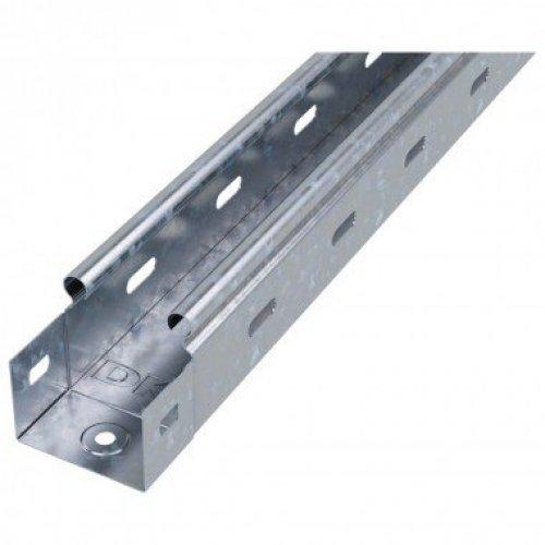 Лоток листовой перфорированный 50х50 L3000 сталь 0.7мм ДКС 35260