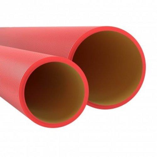 Труба жесткая двустенная для кабельной канализации(6кПа) 160мм 5.7м