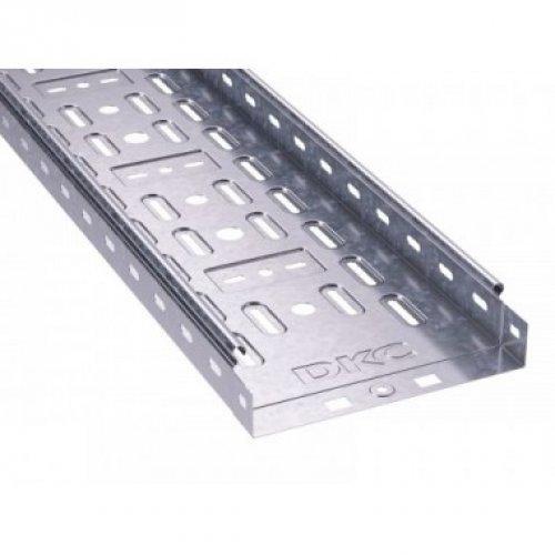 Лоток листовой перфорированный 300х50 L2000 сталь 0.8мм ДКС 35255