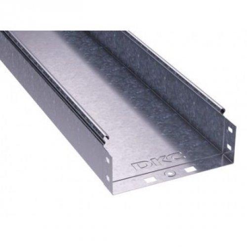 Лоток листовой неперфорированный 400х80 L3000 сталь 1мм ДКС 35066