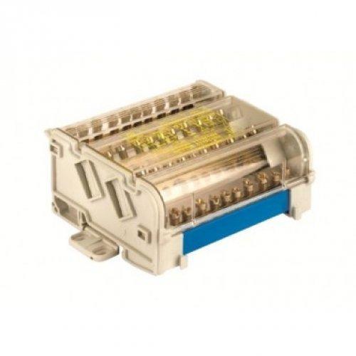 Блок распределительный 4p 5х6мм на DIN-рейку ДКС BD10074