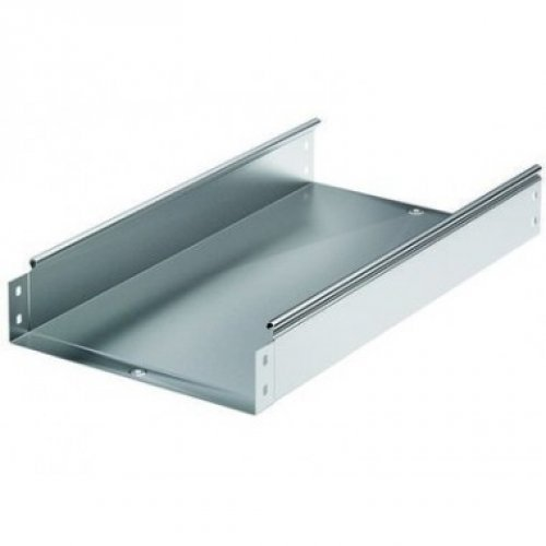 Лоток листовой неперфорированный 100х100 L2000 сталь 0.7мм цинк-ламель DKC 35111ZL