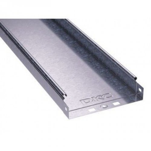 Лоток листовой неперфорированный 50х50 L3000 сталь 0.7мм ДКС 35020