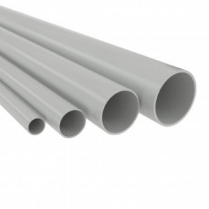 Труба ПВХ гладкая жесткая d63мм (т) (дл.3м) ДКС 63963