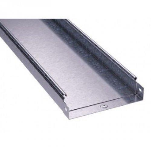 Лоток листовой неперфорированный 300х50 L3000 сталь 1мм цинк-ламель DKC 3502510ZL