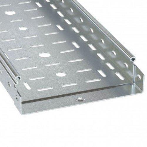 Лоток листовой перфорированный 100х50 L3000 сталь 1мм гор. оцинк. DKC 3526210HDZ