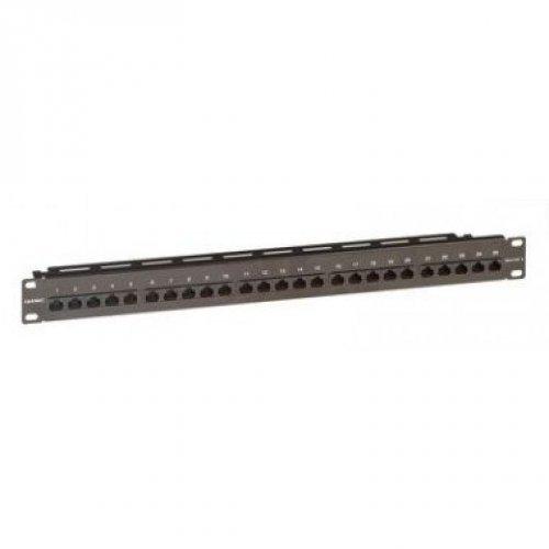 Патч-панель телефонная 19дюймов 1U CAT3 RJ45 LSA 25 портов