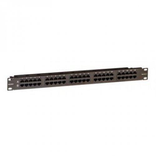 Патч-панель телефонная 19дюймов 1U CAT3 RJ45 LSA 50 портов