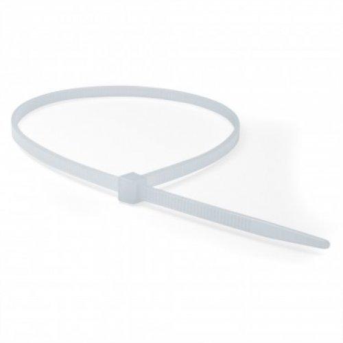 Хомут кабельный 3.6х290 полиамид бел. (уп.100шт) ДКС 25210