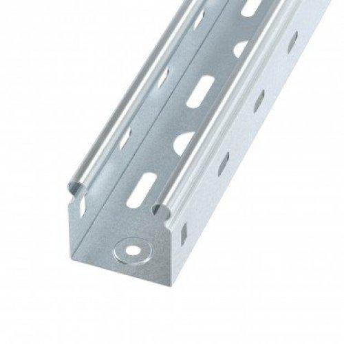 Лоток листовой перфорированный 50х50 L3000 сталь 0.6мм S3 ДКС SPL3505