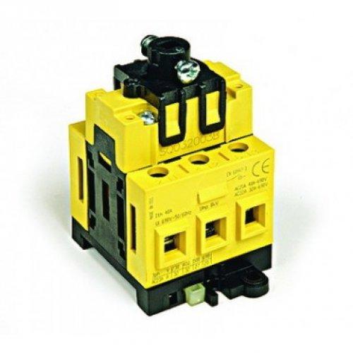 Выключатель нагрузки трёхполюсный с установкой на монтажную плату серый QUADRO