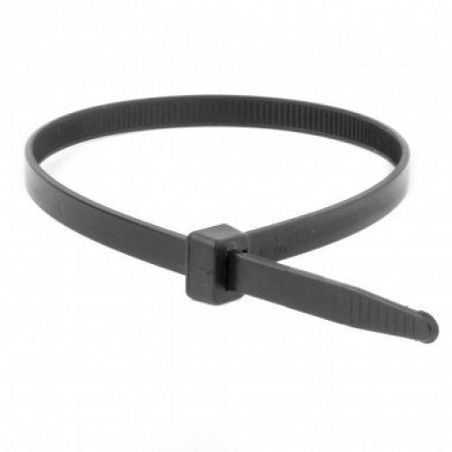 Хомут кабельный 4.8х200 полиамид черн. (уп.100шт) ДКС 25315