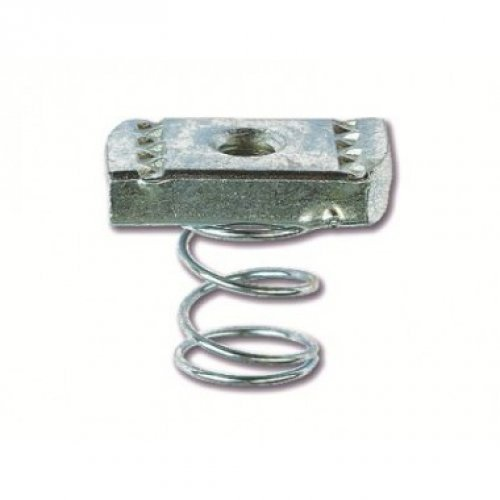 Гайка М10х40 для подвешивания профиля (с удлиненной пружиной)