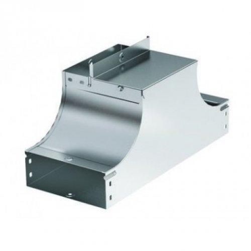 Ответвитель для лотка Т-образ. вверх TSS осн. 100 Н80 в комплекте с крепеж. эл. DKC 37222K