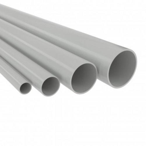 Труба ПВХ гладкая жесткая тяж. d20мм (т) (дл.3м) ДКС 63520