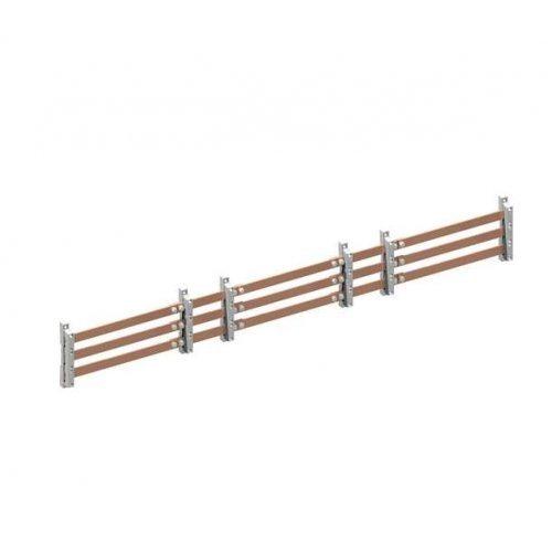 Шина медная ZX2250 30х10мм 3PW V1; A1 ABB 2CPX042656R9999
