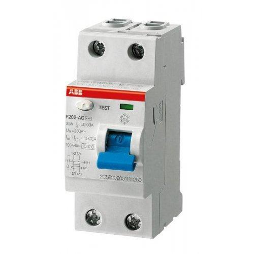 Выключатель дифференциального тока (УЗО) 2п 63А 30мА F202 А