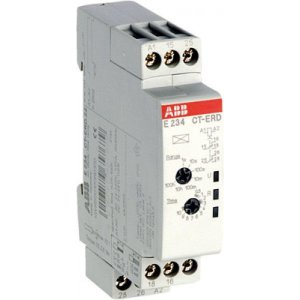 Реле времени CT-TGD 24-48В DC 24- 240В AC (0.05с-100ч) 2ПК ABB 1SVR500160R0100