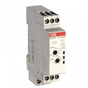 Реле времени CT-SDD 24- 48В DC 24-240В AC (0.05мин-10мин) 2ПК ABB 1SVR500211R0100