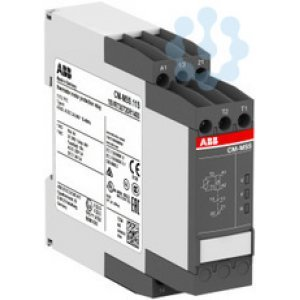 Реле термисторное защиты двиг. CM-MSS.11P 24-240В AC/DC 1НО1НЗ пружинные клеммы ABB 1SVR740720R1400