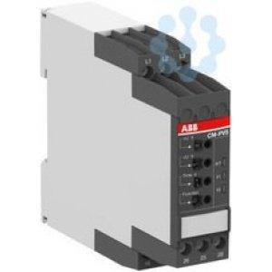 Реле контроля CM-PVS.41P без контр. нуля Umin/Umax=3х300-380В/420- 500B AC обрыв чередование tрег =0-30с 2ПК пруж. клеммы ABB 1SVR740794R3300