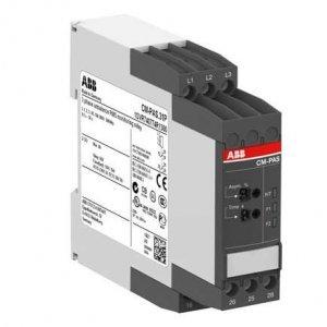 Реле контроля асимметрии фаз CM-PAS.31P с регул. порог срабатывания 2- 25проц. Uпит=Uизм=3х160-300В AC 2ПК пруж. клеммы ABB 1SVR740774R1300