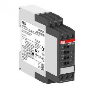 Реле контроля напряжения CM-EFS.2P (AC/DC (Umin 3В Umax 600В AC) c реле времени питание 24-240В AC/DC 2ПК пруж. клеммы ABB 1SVR740750R0400