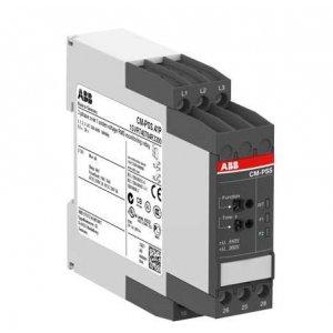 Реле контроля напряжения 3ф CM-PFS.P (контроль обрыва и чередования фаз) 3х200-500В AC 2ПК пруж. клеммы ABB 1SVR740824R9300