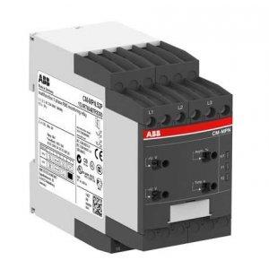 Реле контроля CM-MPN.52P без контр. нуля Umin/Umax=3х350-460В/480- 580BAC 2ПК пруж. клеммы ABB 1SVR760487R8300