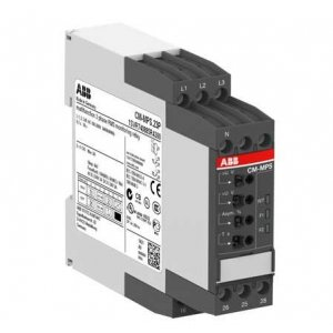 Реле контроля CM-MPS.41P без контр. нуля Umin/Umax=3х300-380В/420- 500BAC 2ПК пруж. клеммы ABB 1SVR740884R3300