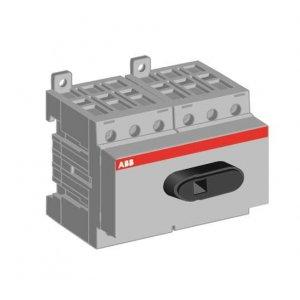 Рубильник 6п OT40F6 40А на DIN-рейку или монтаж. плату без ручки ABB 1SCA104936R1001