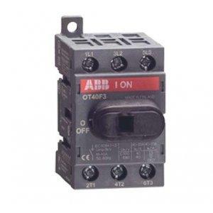 Рубильник 4п OT25F4N2 25А для установки на DIN-рейку или монтажную плату (с резерв. ручкой) ABB 1SCA104886R1001