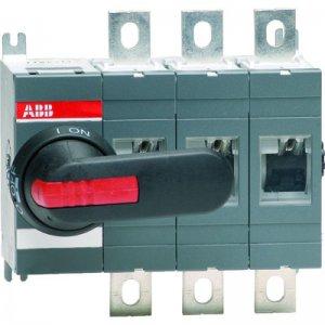 Рубильник 4п OT400E04 400А (без ручки) ABB 1SCA022727R8000