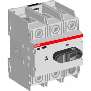 Рубильник 3п OT16M3 (PROM) 16А на DIN-рейку ABB 1SCA022497R0220