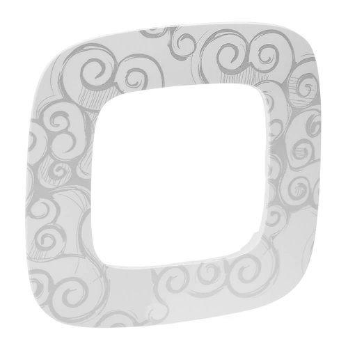 Рамка 1-м Valena Allure универсальная нарцисс хром Leg 754341
