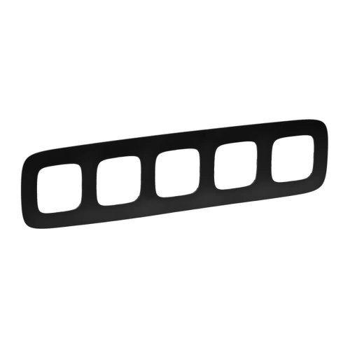 Рамка 5-м Valena Allure универсальная мат. черн. Leg 754405